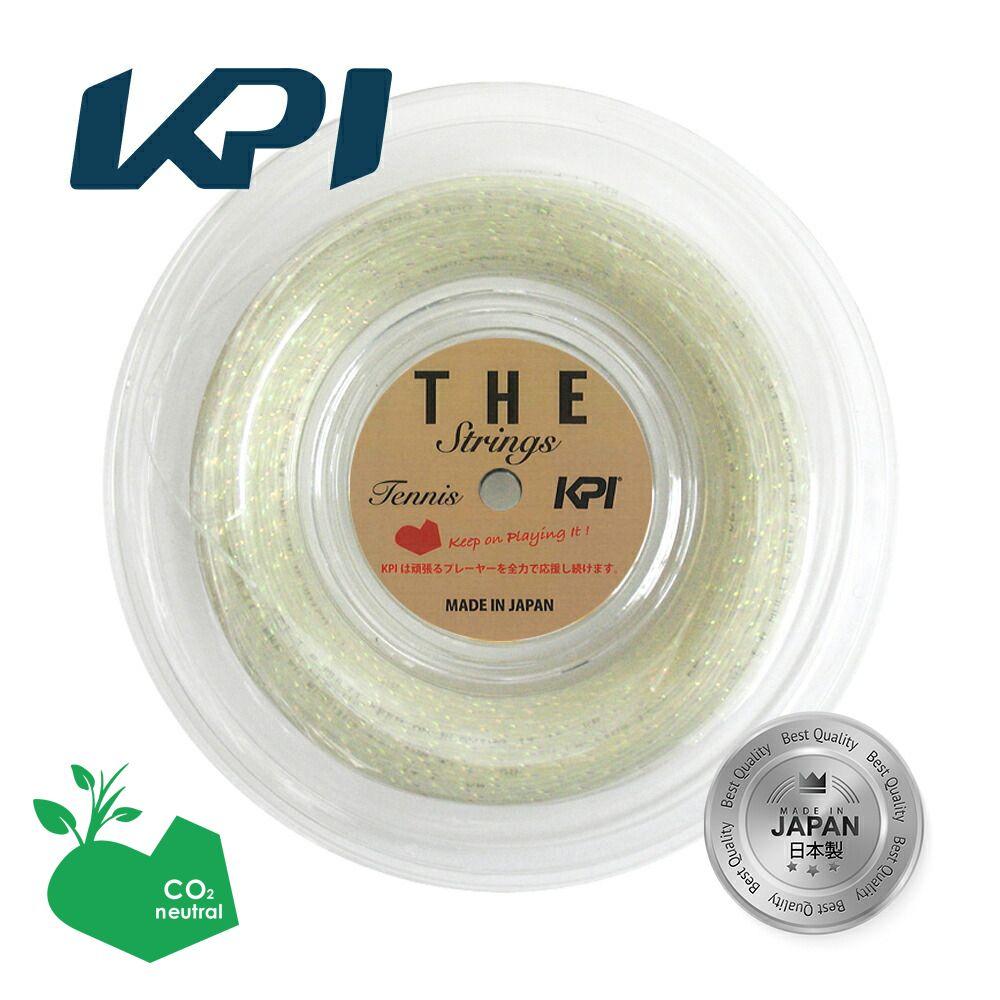 【エントリーでポイント10倍▲8/1~31】「あす楽対応」ケーピーアイ KPI テニスガット・ストリング KPI THE STRINGS 16 120mロール KPIオリジナル KPIT161 『即日出荷』