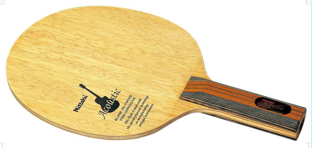 【エントリーでポイント10倍▲さらに買い回りで10倍 8/14~21】Nittaku(ニッタク)[アコースティック ST NE6759]卓球ラケット