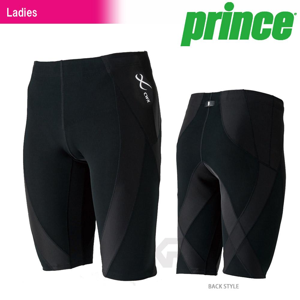 プリンス Prince テニスウェア バドミントンウェア レディース CW-X GENERATOR HALF(ジェネレーターハーフ) HZY345