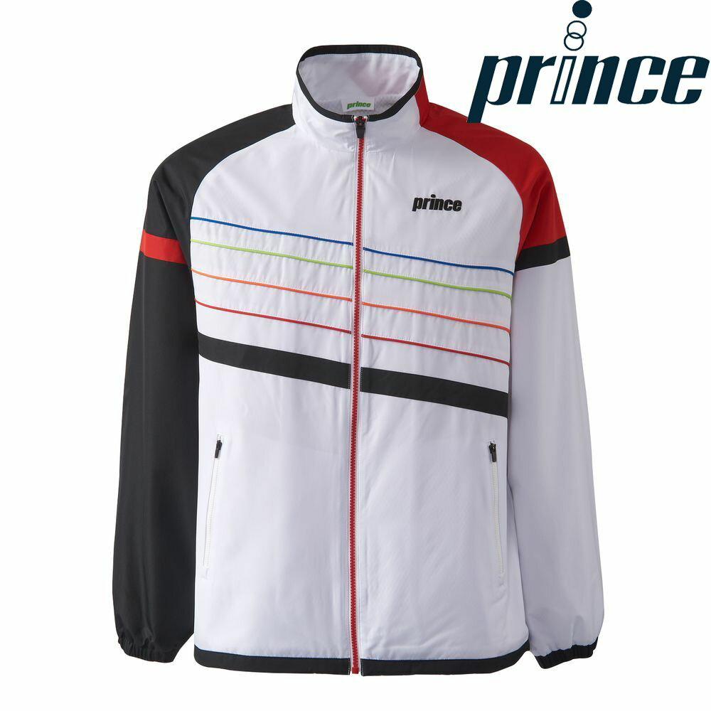 プリンス Prince テニスウェア ユニセックス ウィンドジャケット TMU643T 2018FW