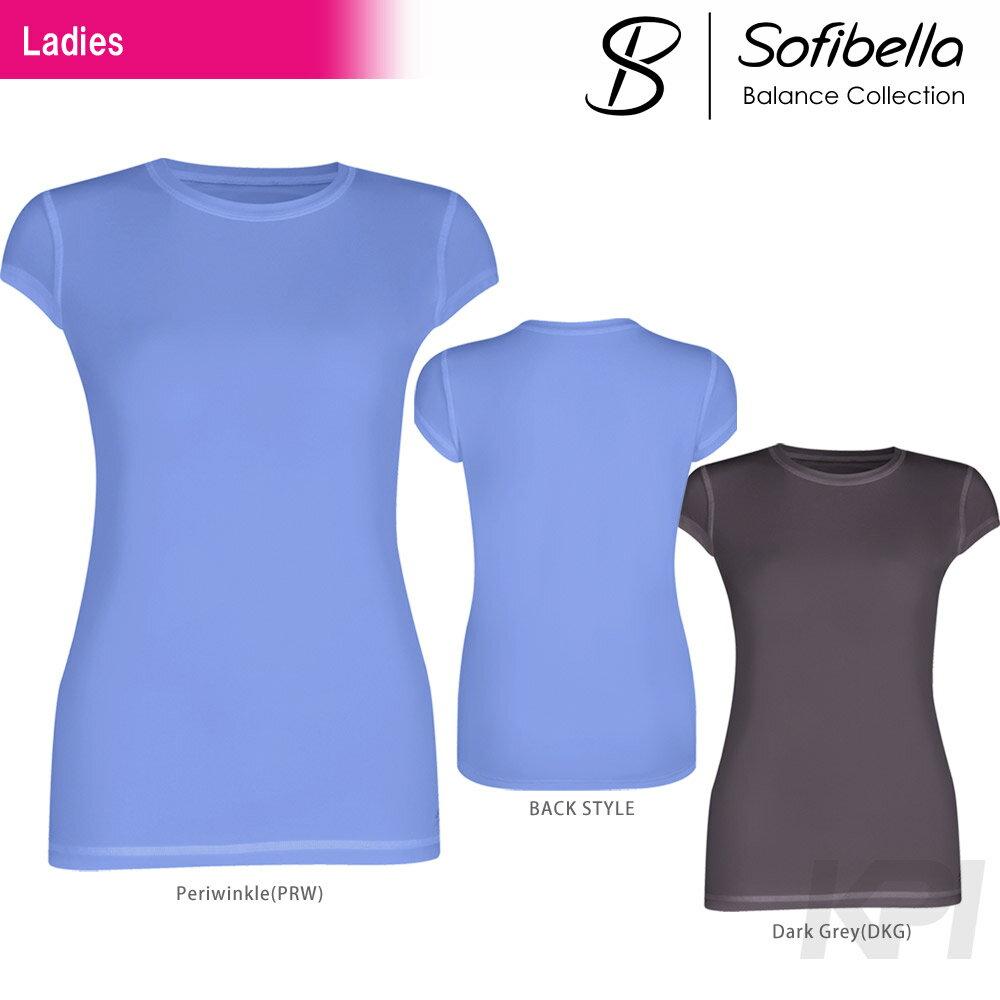 『即日出荷』Sofibella(ソフィベラ)「Balance Collection(バランスコレクション) Athletic Cap Sleeve BA1506」テニスウェア「SS」「あす楽対応」【KPI】:KPI24