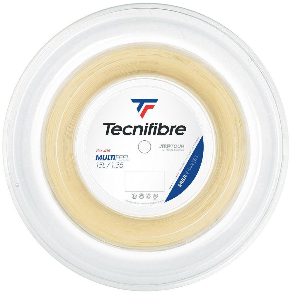 テクニファイバー Tecnifibre テニスガット・ストリング MULTIFEEL (マルチフィール) 1.35mm 200mロール TFR222