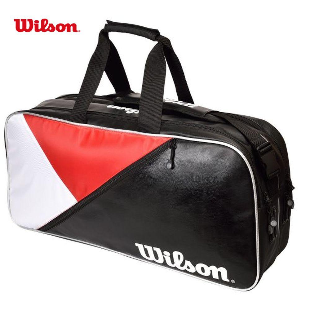 ウイルソン Wilson テニスバッグ・ケース RECTANGLE BAG IV JPN RD/BK/Wh WR8002102001