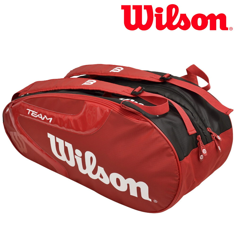 Correspondence Wilson Tennis Bag Case Team J 2 0 9 Pack 9pack Racket Wrz621806
