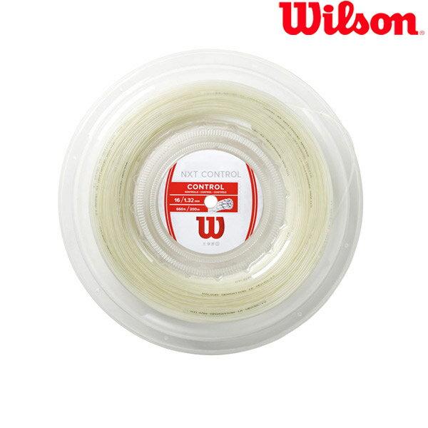 ウイルソン Wilson テニスガット・ストリング NXT CONTROL 16 REEL(200M) NXT コントロール 16 WRZ912900