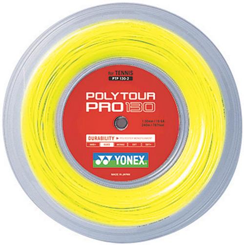 YONEX(ヨネックス)「POLY TOUR PRO 130(ポリツアープロ130) 240mロール PTP130-2」硬式テニスストリング(ガット)