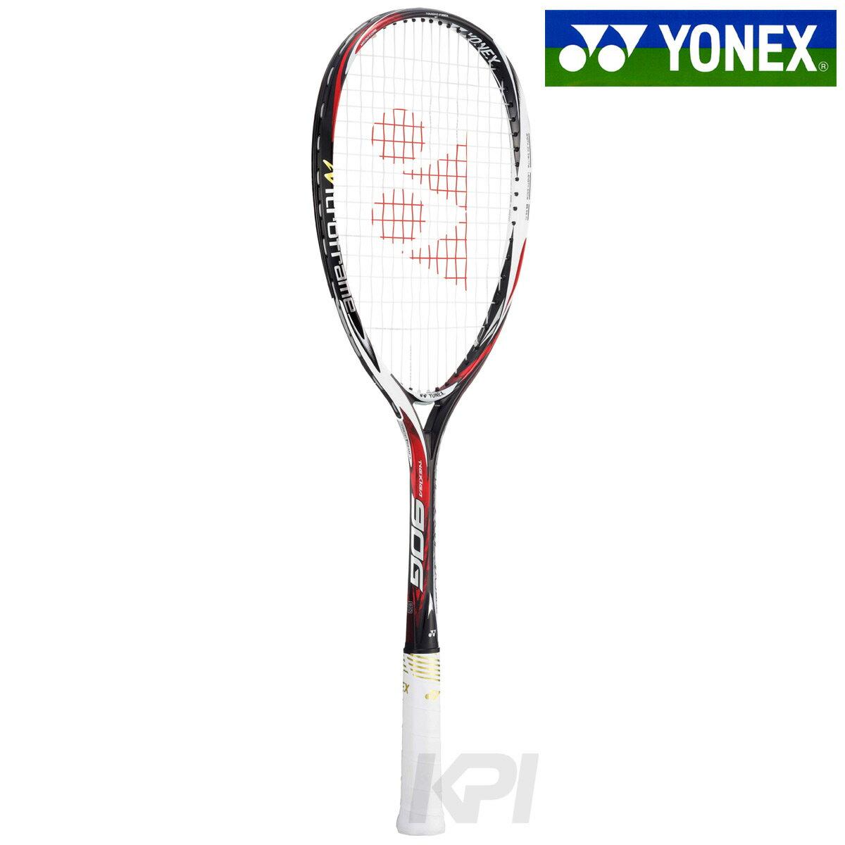 「新デザイン」「2017新製品」YONEX(ヨネックス)「NEXIGA 90G(ネクシーガ90G)ジャパンレッド NXG90G-364」ソフトテニスラケット