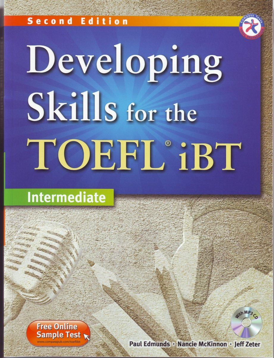 Developing Skills for the TOEFL iBT Second Edition Combined Book with MP3 CD Perfect