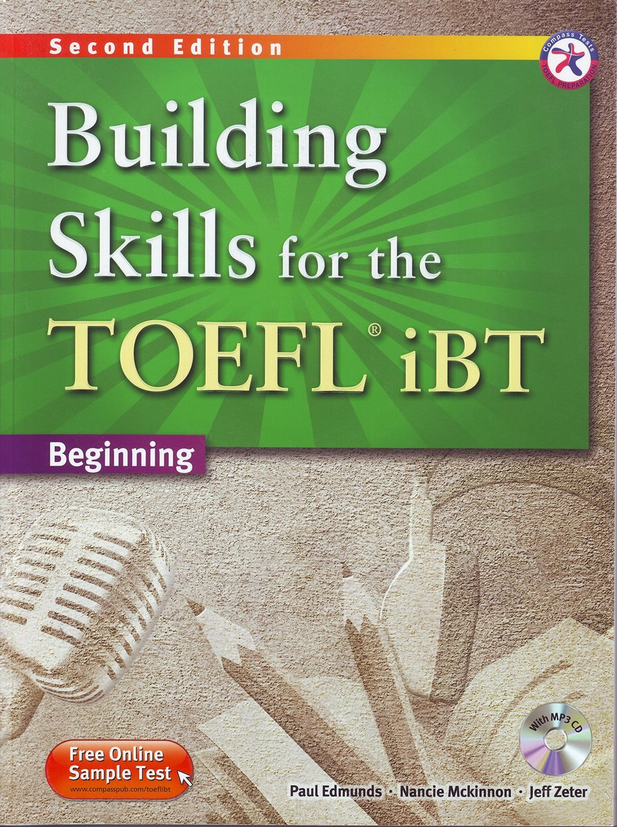 Building Skills for the TOEFL iBT Second Edition Combined Book with MP3 CD Perfect