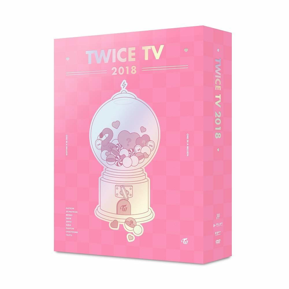 トワイス - TWICE TV 2018 4DVD+5Photocard
