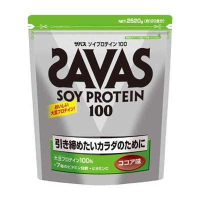 SAVAS(ザバス) ソイプロテイン100 ココア味 2520g