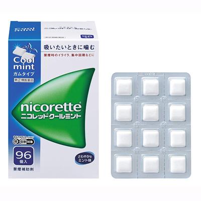 【第(2)類医薬品】ニコレット クールミント(セルフメディケーション税制対象)(96個入)