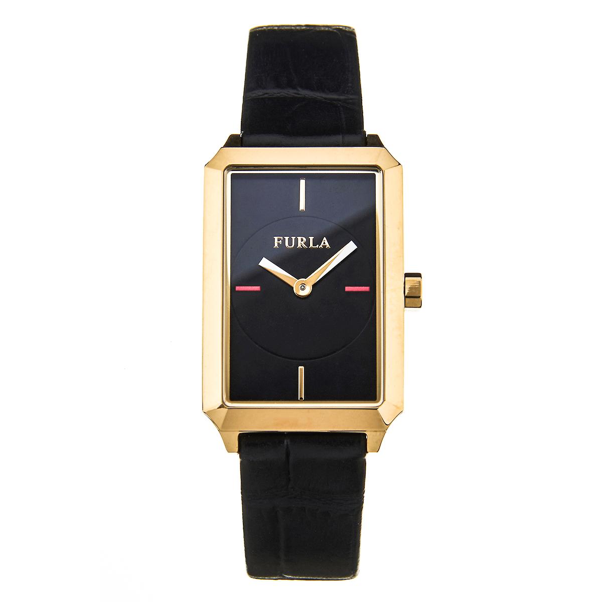 27bf94fc13fe フルラ FURLA 腕時計 レディース DIANA (ディアーナ)イエローゴールドブラック R4251104502-レディース腕時計. 人気商品!!