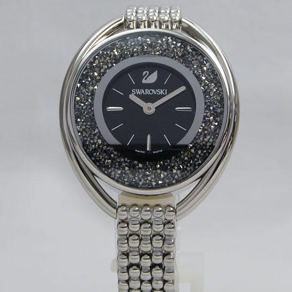 SWAROVSKI スワロフスキー Crystalline Oval Black ブレスレット クリスタルライン オーバル 5181664