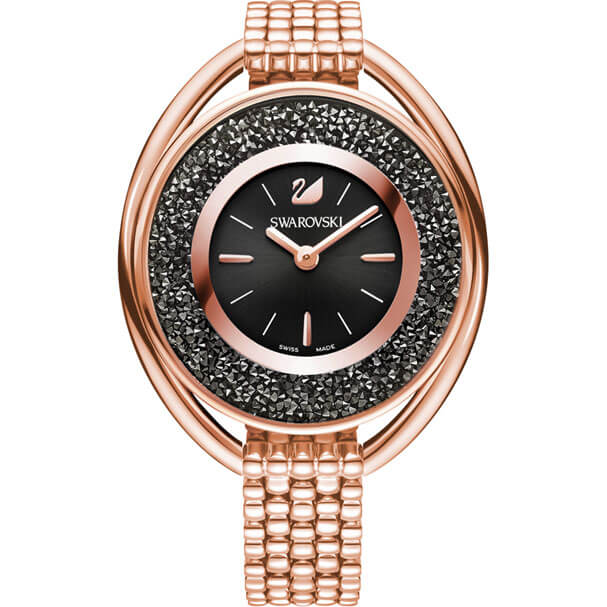 SWAROVSKI スワロフスキー Crystalline Oval Rose Gold Tone ブレスレット クリスタルライン オーバル 5480507【NEW】