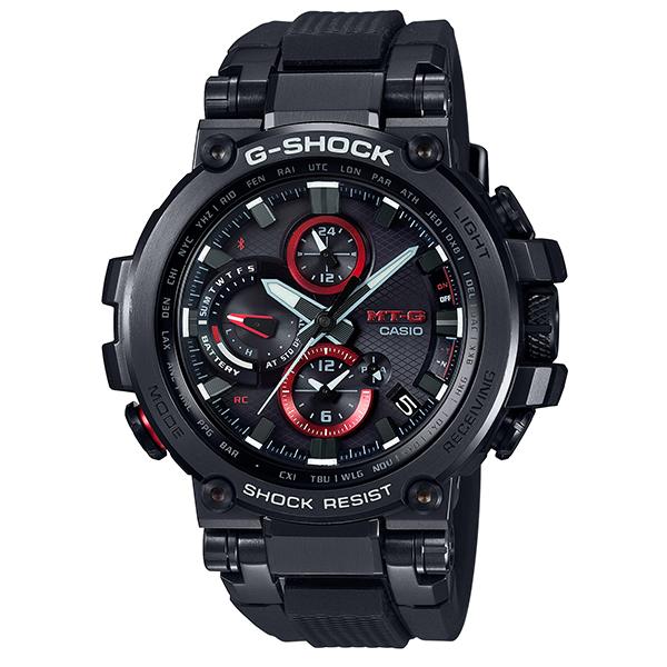 カシオCASIO Gショック ジーショック G-SHOCK MT-G 電波 ソーラー メンズ 腕時計 MTG-B1000B-1AJF【国内正規品】
