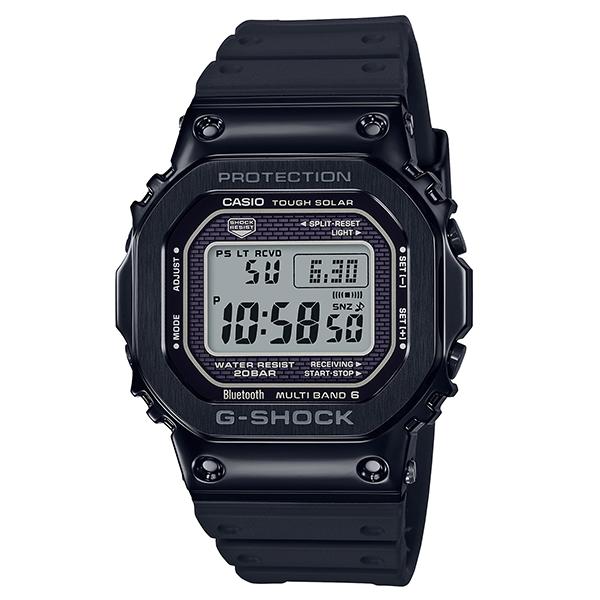 カシオCASIO Gショック ジーショック G-SHOCK Bluetooth搭載 電波 ソーラー メンズ 腕時計 GMW-B5000G-1JF【国内正規品】