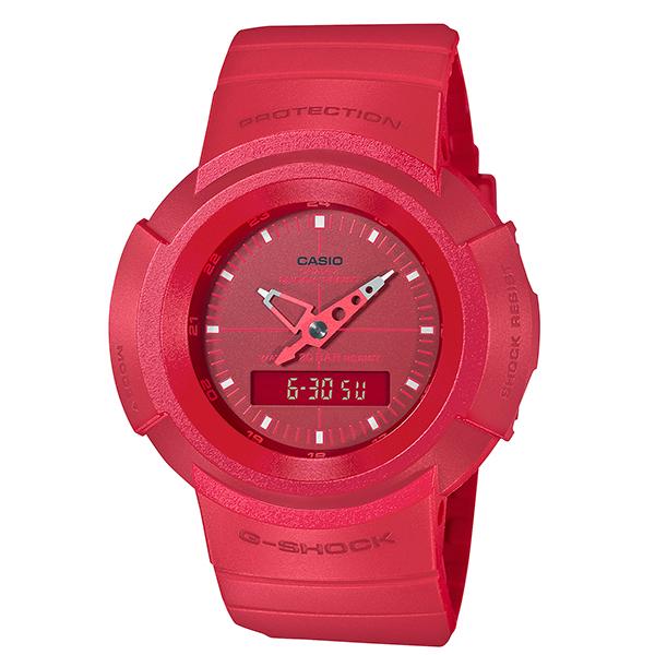 公式ストア 腕時計 セール商品 GSHOCK 新品 国内正規 カシオCASIO G-SHOCK Gショック 国内正規品 初代 アナログデジタルモデル復活 AW-500BB-4EJF ジーショック