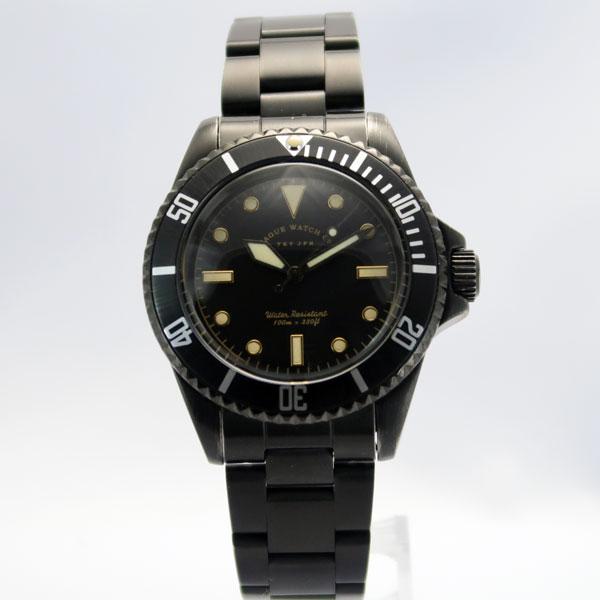 ヴァーグウォッチ VAGUE WATCH Co. 腕時計 メンズ ブラックサブ 黒サブ BS-L-001-SB【正規品】
