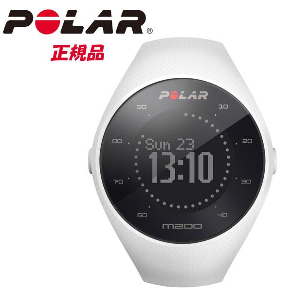 POLAR ポラール 24時間365日アクティビティトラッカー機能付きのランニング用 スポーツウォッチ POLAR M200 WH ホワイト【国内正規品】