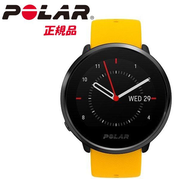 【即納】POLAR ポラール手首型心拍計機能を備えたGPS内蔵フィットネスウォッチ POLAR IGNITE YE イエロー&ブラック【国内正規品】【2019夏 NEWモデル】90075950