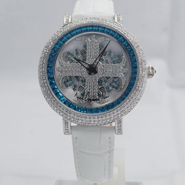 アンコキーヌ ネオ Anne Coquine Neoアルバ 40mm ブルー L1-4A【正規品】【ぐるぐる時計・グルグル時計】