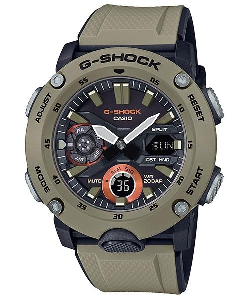 【即納】カシオCASIO G-SHOCK Gショック ジーショック カーボンコアガード構造 GA-2000-5A【海外モデル】