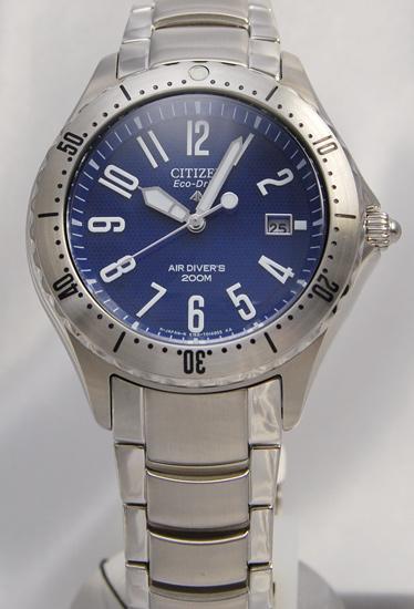 公民 ProMaster 海洋 200 米潜水员生态驱动器 PMA56-2921年