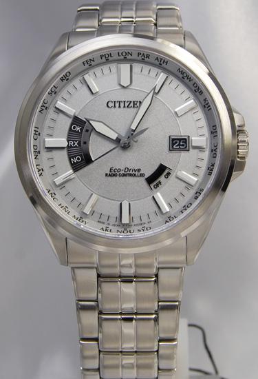 シチズンCITIZENコレクションエコドライブ 電波時計ワールドタイム CB0011-69A