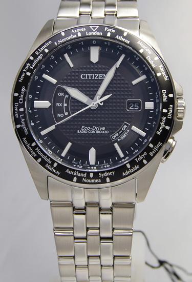 Citizen Citizen collection ecodrive radio time signal world thyme CB0027-69E