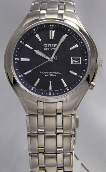Citizen forma eco-drive radio clock FRD59-2383