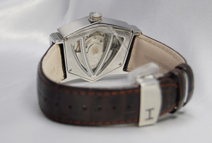 Hamilton Ventura auto SS / leather H24515591