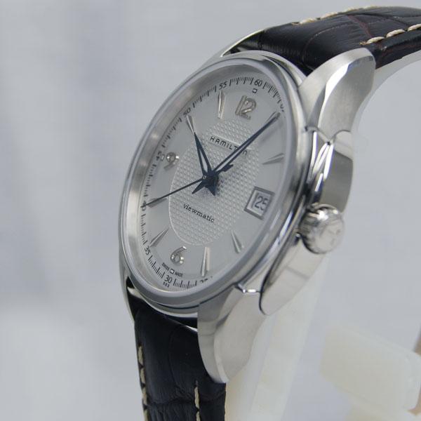 Hamilton jazzmaster 37 mm viewmatic silver H32455557