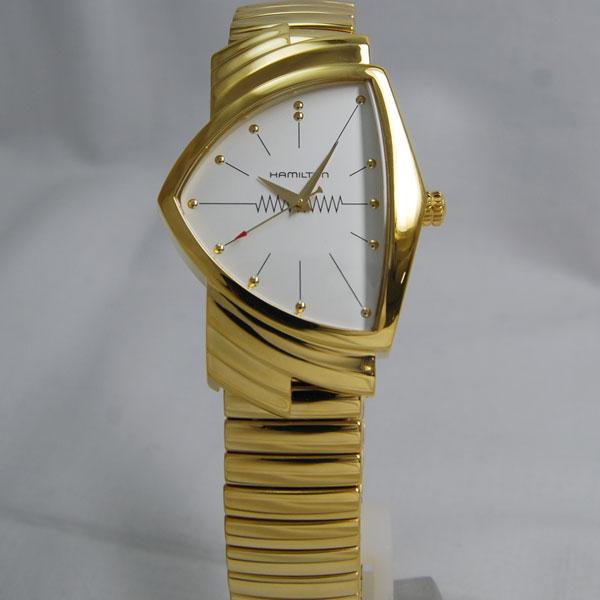 ハミルトンベンチュラ ゴールド フレックスブレスレットH24301111 【数量限定特価】【NEWモデル】