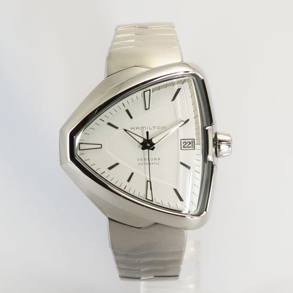 ハミルトン HAMILTON 自動巻き 時計 ベンチュラ ELVIS80 AUTO エルヴィス 80 オート ホワイト H24505111