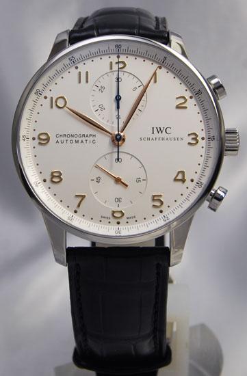 IWC Portuguese chronograph SV IW371445