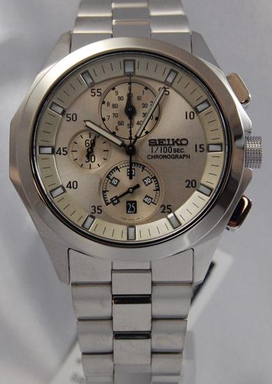 Seiko ignition 1 / 100 sec chronograph SBHP007