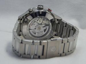 标记豪雅 Carrera 速度计计时的一天-日期手表 CV2A1R。 BA0799