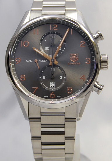 Tag Heuer Carrera 1887 chronograph 43 mm CAR2013... BA0799