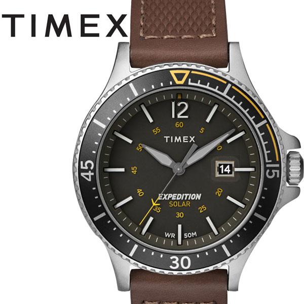 タイメックス TIMEX RANGER SOLAR レンジャーソーラー グリーン×ブラウン TW4B15100正規品【2019NEWモデル】
