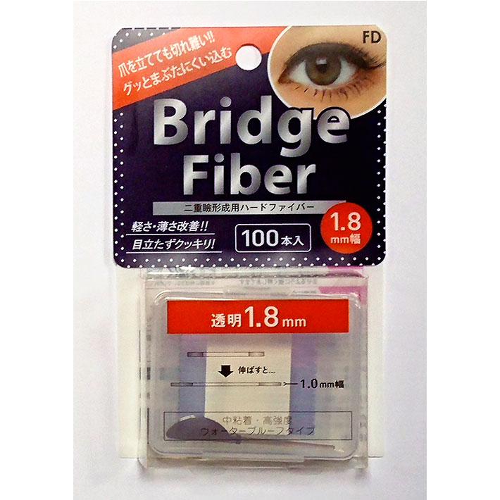 【送料無料】二重テープ アイテープ 10個セット 二重まぶたテープ クセ付け アイプチ ブリッジファイバー2 二重ファイバー [透明 1.8mm] 形成 ふたえ まぶた シール 眼瞼 下垂 防止 引き上げ アイライン 05P05Nov16