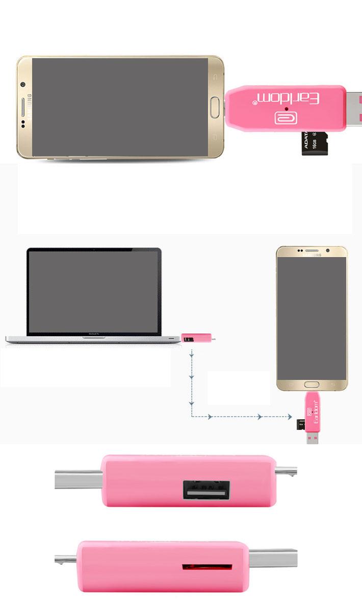 USBカードリーダー SDメモリーカードリーダー MiniSD OTG android アンドロイド スマホ タブレット usb ケーブル ホスト 変換 マウス接続 キーボード ゲームコントローラー