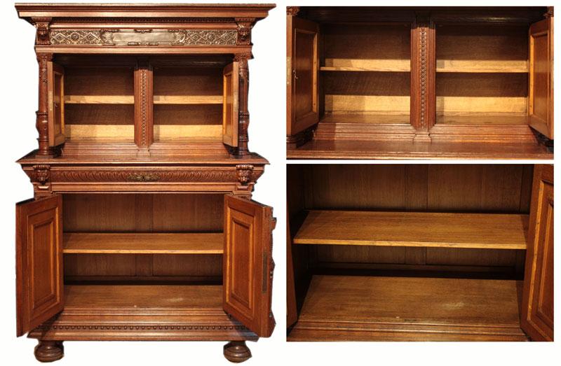 ... ☆ Western antique home furniture made in Belgium sideboard Cabinet - Kagabijutsuten: ☆ Western Antique Home Furniture Made In Belgium