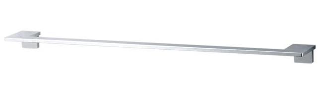 【TOTO】タオル掛け Mシリーズ YT800S3 アルミ製バー 亜鉛合金製[めっき仕上げ]ブラケット サイズ400×77.5×38 メタル 送料無料