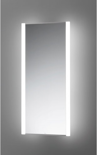 【TOTO】LED照明付鏡 トイレ・洗面所用 化粧照明タイプ EL80018 サイズ350×150×1000 ステンレス製 消費電力18.6W 昼白色