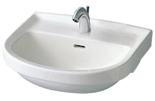 【TOTO】洗面器 L210C&TLS04302J 水栓 T7PW1 Pトラップ TL4CU×2 TL250D  壁給水 壁排水 セット