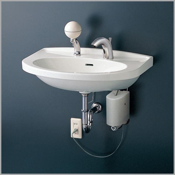 【TOTO】壁掛洗面器(中形) 洗面器本体 L260CM 560X460 容量6.5L 壁掛 4色展開