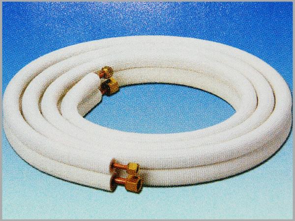 【TAK】冷媒用難燃被覆銅管 アクト難燃チューブ 配管キット ペアアクトチューブ NT-P23JN-3 2分3分 3m UL94 HF-1規格適合 1梱包(5セット)送料無料
