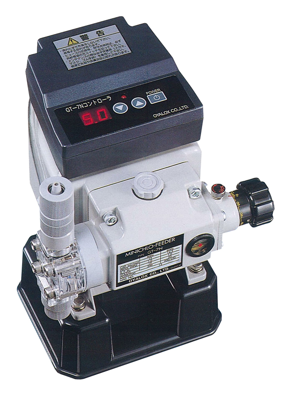 【オーヤラックス】飲料水滅菌機 ミニクロフィーダー GT-7N 送料無料