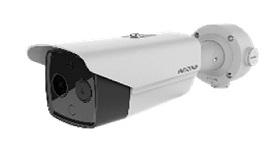 【正興電機製作所】HIKVISION社製 体表温度測定 AI顔認識バレットカメラ DS-2TD2617B-6/PA サーマルカメラ ガンタイプ 送料無料